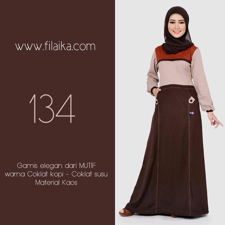Gamis Mutif 2016, Mutif 134. Dapatkan item ini di distributor resmi Filaika.com Hubungi : SMS / Whatsapp : 08123831280 BBM : 5F03DE1D