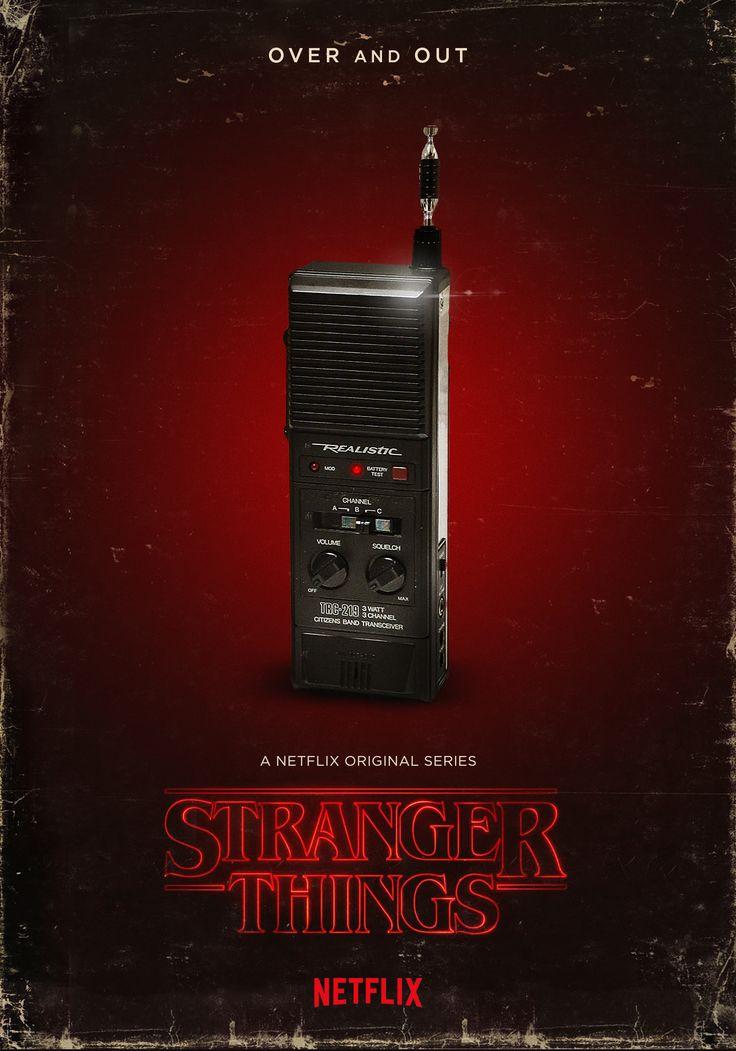 Stranger Things Fan Art Poster - Frederico Mauro