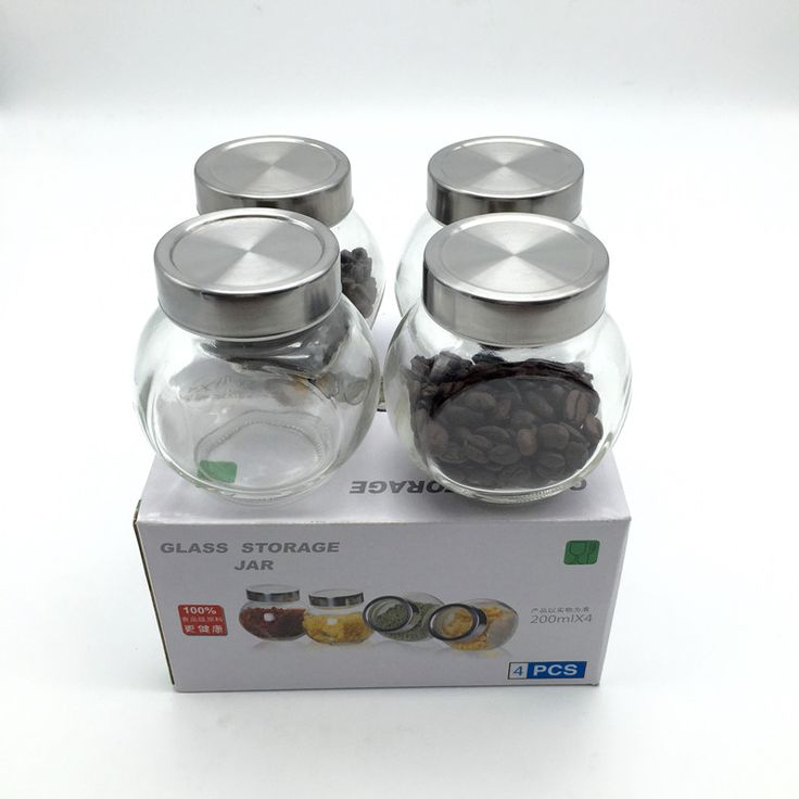 Barato 4/saco de 200 ML de Vidro latas seladas/armazenamento de alimentos jar spice chás doces beans preservação garrafa ferramenta de armazenamento de cozinha ferramentas, Compro Qualidade Jarras & Garrafas diretamente de fornecedores da China: 4/saco de 200 ML de Vidro latas seladas/armazenamento de alimentos jar spice chás doces beans preservação garrafa ferramenta de armazenamento de cozinha ferramentas