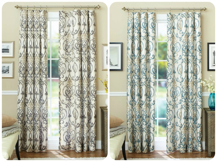 Better Homes And Gardens Ikat Scroll Curtain Panel Dress