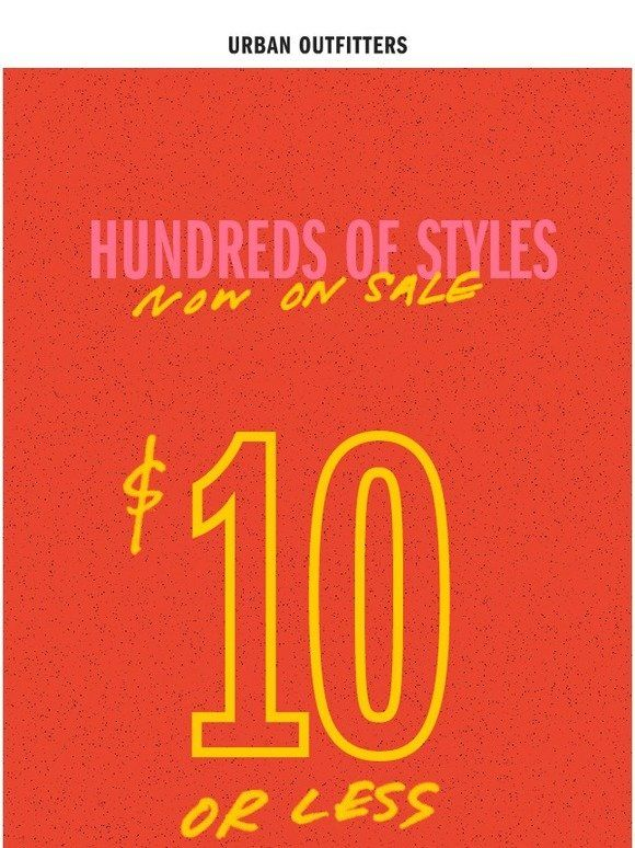 10 Or Less 100s Of Items On Sale Urban Outfitters Urban Outfitters Outfitter 10 Things