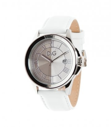 D  Watch - silver/white