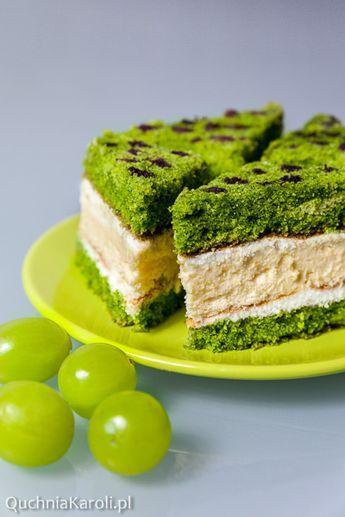 ciasto ze szpinakiem i masą serową