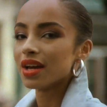 Sade is an incredible beauty.  English/Nigerian gorgeous mix. <3