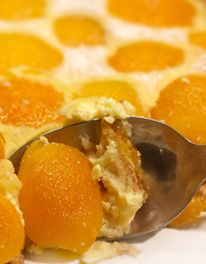 Apricot and Mascarpone Brioche Tart