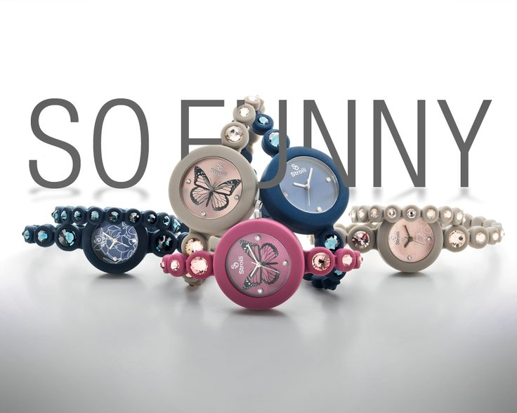 Fashion alert: from this moment you cannot not look at the hour with the new So Funny watches by Stroili.
