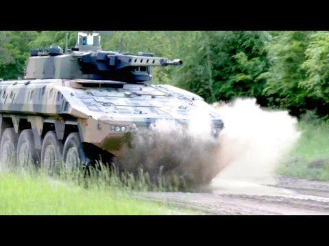 Rheinmetall Defence - Boxer 8X8 35mm CRV For Australia Land 400 Phase 2 [1080p] - YouTube