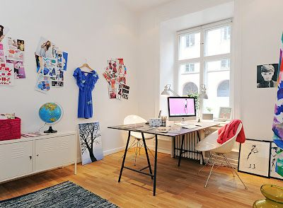 54 best Sewing room ideas, fashion studios, work spaces.. images on ...