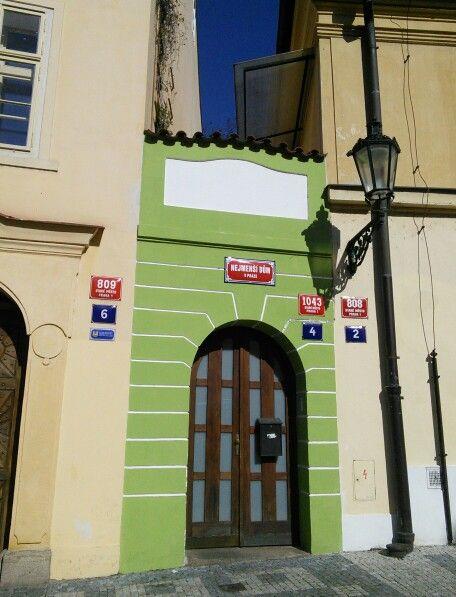 The smallest house in Prague! www.nakedtourguideprague.com