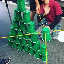 Team Building Activity: Tower of Cups