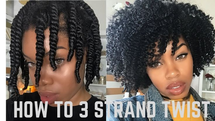 How to 3 Strand Twist Out *DETAILED + Night Time Routine [Video]  Read the article here - http://blackhairinformation.com/video-gallery/3-strand-twist-detailed-night-time-routine-video/