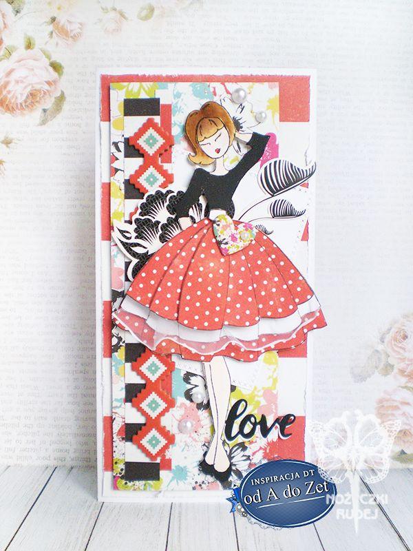 Nożyczki Rudej: 194. Sukienka w grochy
