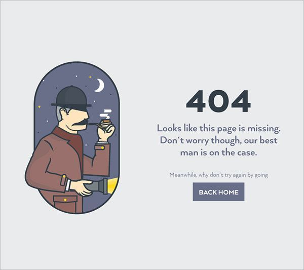 50+ Creative 404 Error Page Not Found Designs for Inspiration