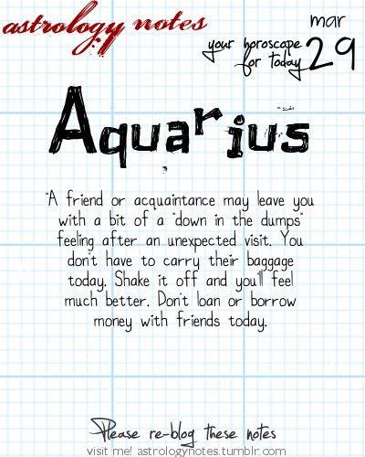 Hey Aquarius, follow us for horoscopes every day!