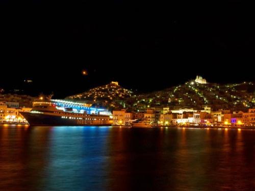 Port of Syros Island #syros