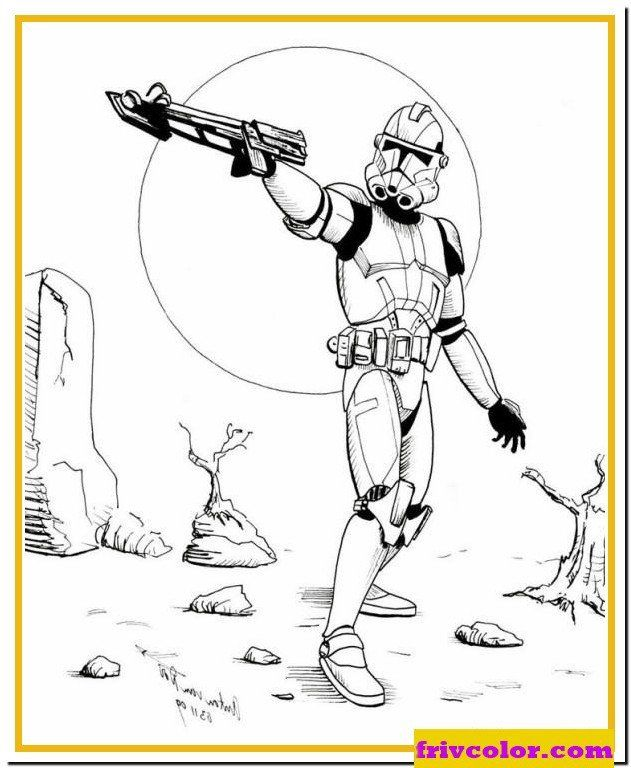 Star Wars Free Coloring Pages Star Wars Stormtrooper Friv Free Coloring Pages For In 2020 Coloring Pages Star Wars Colors Cute Coloring Pages