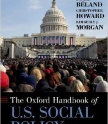 Oxford Handbook Of U.S. Social Policy PDF
