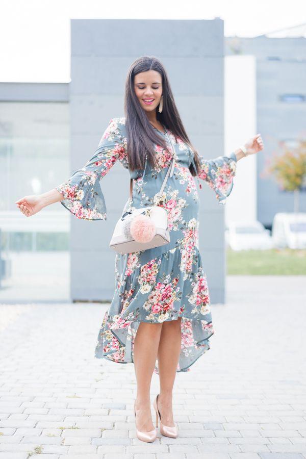 Vestido floral con volantes Moda - Crímenes de la Moda