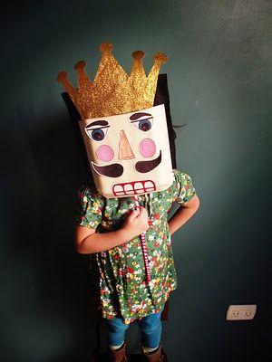 Make Cereal Box Masks