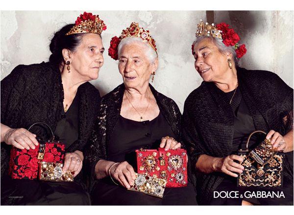ドルチェ&ガッバーナの2015年春夏ウィメンズ広告キャンペーン。
