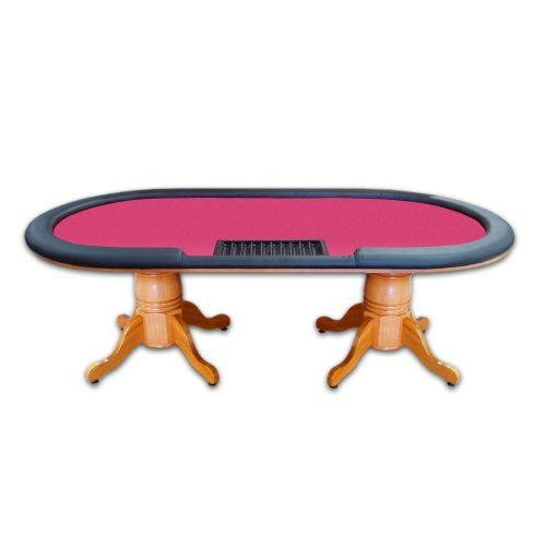 Trademark Poker Deluxe Holdem Table 90 Inch With Removable Rail