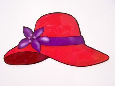 Red Hat Society Clip Art - Cliparts.co