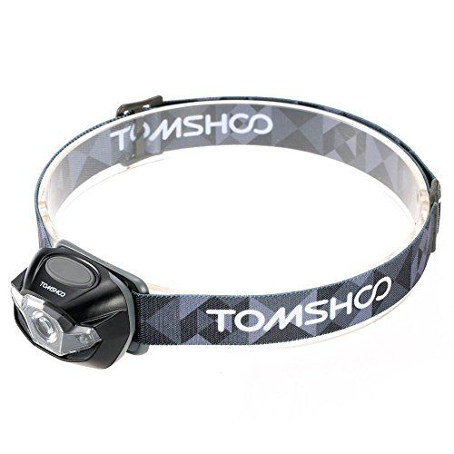 TOMSHOO Super Bright LED Headlamp High Power Flashlight Headlight Lamp for Biking Camping Climbing Other Outdoor Activities *** For more information, visit image link. Note:It is Affiliate Link to Amazon.