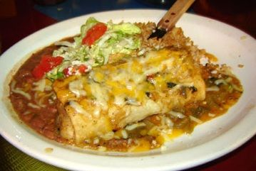 Chimichanga...my very fav food when in a mexican restaurant. This recipe sounds