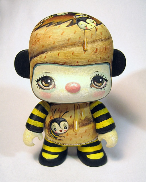 Buzz Noggin    Hand-painted Acrylic on Vinyl  Mini Qee