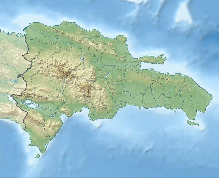 Location of Santo Domingo, Dominican Repuplic