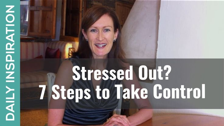 Stressed Out? 7 Steps to Take Control https://www.pinchmeliving.com/stressed-out/