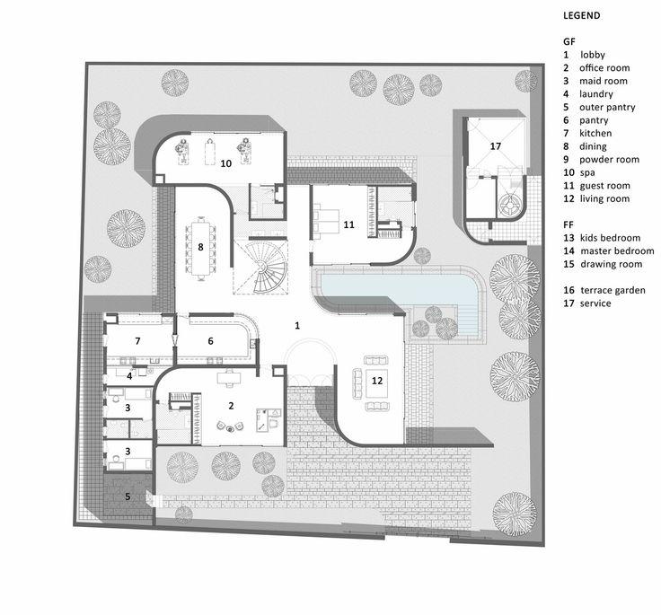 Best Architectural Plans Images On Pinterest Floor Plans