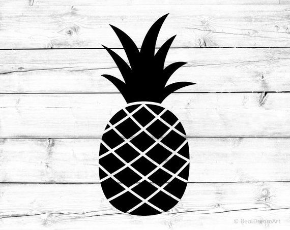 pineapple svg silhouette crown cricut vacay mode stencil etsy summer