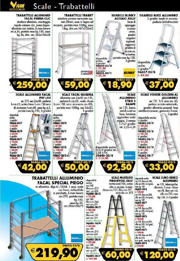 Nuova offerta: Offerta scale e trabattelli - Altavilla Vicentina - Ferramenta Trentin