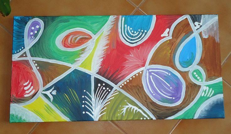 BUBBLES - Acrylics on canvas