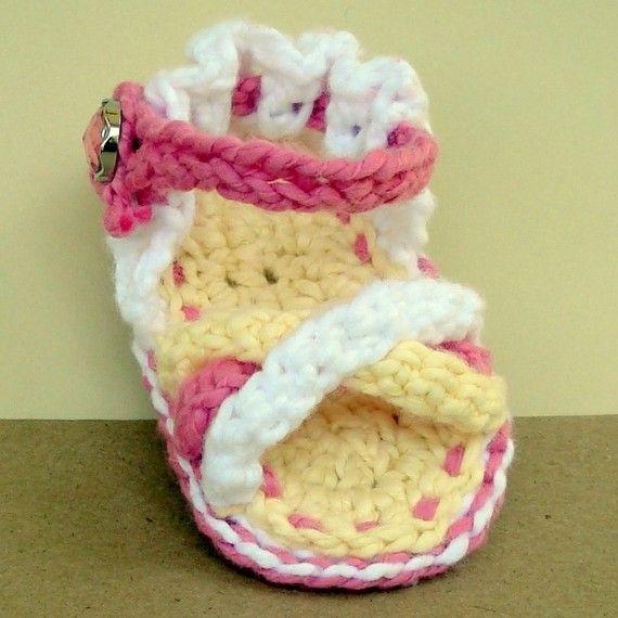 Google Crochet Pattern Central : 17 beste idee?n over Gehaakte Baby Sandalen op Pinterest ...