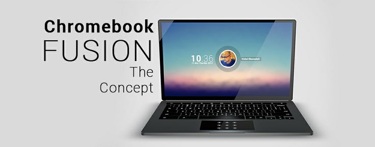 #Chromebook #FUSION - Concept Tour @ MyGadgetic.Com  Chromebook FUSION, a new concept takes the speculated feature of Google's Chrome OS and Android merger into one. Meaning, an Android Runtime built into the new version of Chrome OS will enable running native android apps right on to the Chrome Desktop.