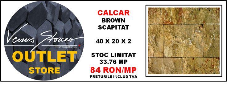CALCAR scapitat brown 40x20x2