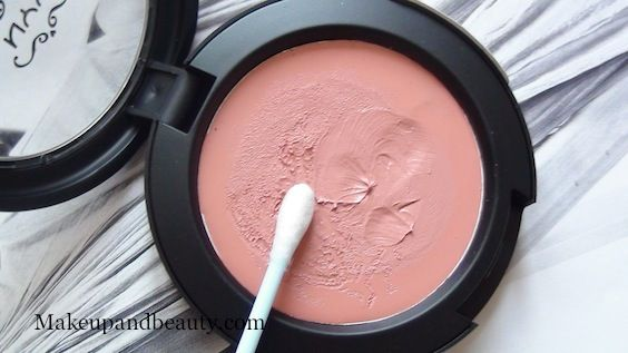 """NYX Cream Blush Natural // Hands down, the best cream blush available at the drugstore. had to give the ladies who love cream blushes an option. I have it in """"Natural,"""" and it's the most perfect every day cream blush"""