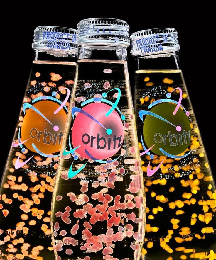Orbitz soda was introduced in 1997 by the Clearly Canadian ...