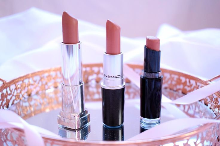 Carolina's Makeup Life : Three Nude Lipsticks That I'm Obsessed Right Now