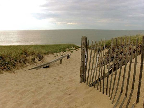 Cape Cod National Seashore is made up of a number of beautiful beaches.
