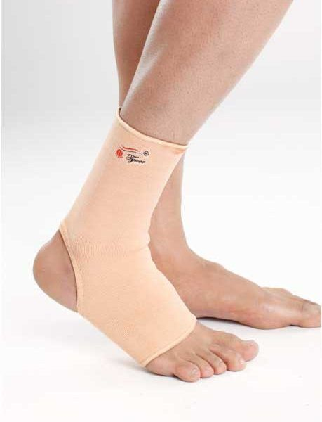 Ankle Compression Sleeve Pair Categories: Ankle Supports, Knee Supports Anklets are tubular supports widely used in orthopedic practice to provide mild compression, warmth & support to the ankle joint, to allay pain and inflammation generally associated with old age, arthritis, sports etc. Four way stretch Two layered fabric Hypoallergenic Uniform compression Simple pull on application