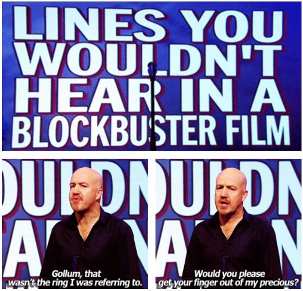 Lines you wouldn't hear in a blockbuster film | Andy Parsons | Mock the Week