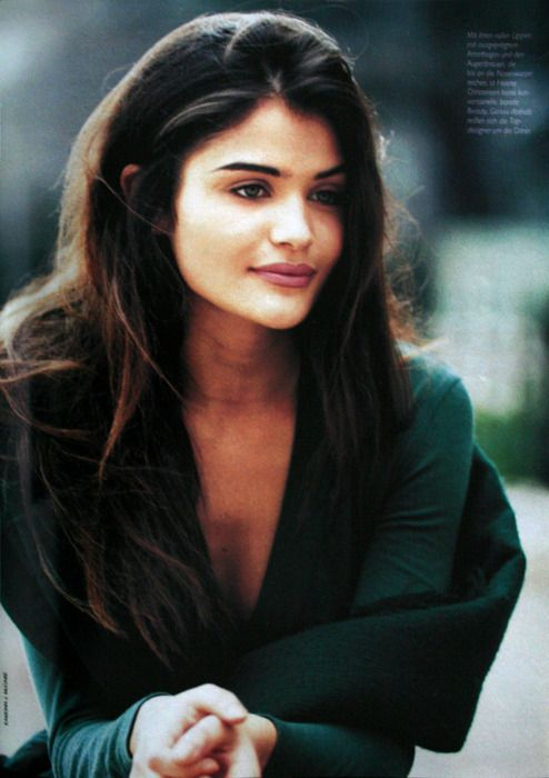 Helena Christensen 90s supermodel, one of my all time favorite models ever