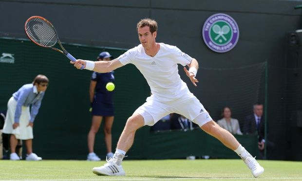 Andy Murray strolls past Blaz Rola and into third round at Wimbledon,
