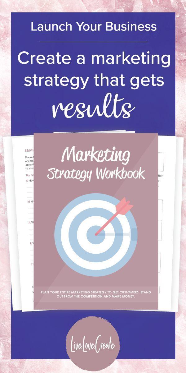 Marketing Strategy Workbook Marketing Strategy Template