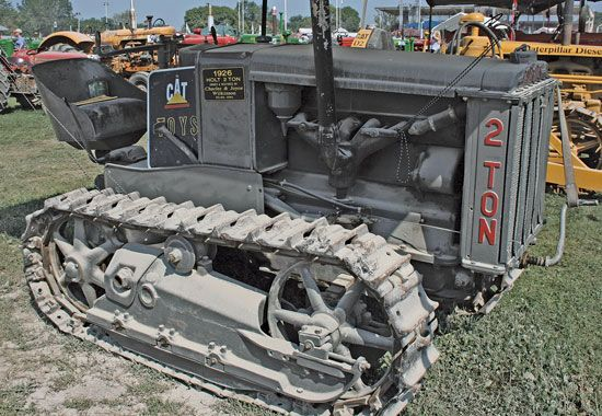 Last of the Line: Charley Wilkinson's Holt Caterpillar - Tractors - Farm Collector