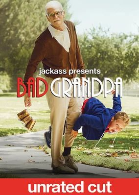 unrated much better--the uncut version--but-damn--couldn't stop laughing---very brave, too. the child beauty pageant--my favorite!  Jackass Presents: Bad Grandpa: Unrated Version