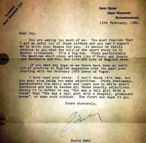 THE MOST ENDEARING AND CHARMING LETTERS FROM FAMOUS AUTHORS TO THEIR FANS